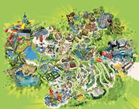 Legoland Windsor Park Map
