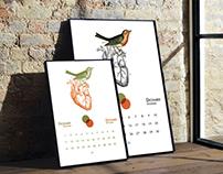Perpetual Calendar - December