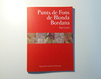 "Book ""Punts de Fons de Blonda Bordana"""
