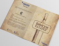 Wine BiFold Brochure