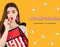 Jump From Paper x The Rodnik Band Pop Art Collection
