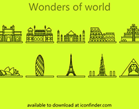 Icons : Wonders of World