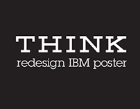 Redesign IBM Poster