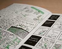 """""""Més enllà de la creativitat"""" exhibition comic"""