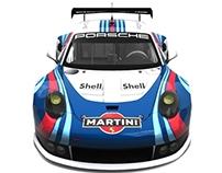 Porsche 991 RSR GTE Martini Racing