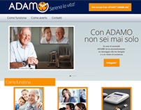ADAMO - product website