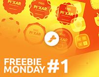 Freebie Monday #1 - Creatifox - Free PSDs