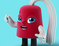 "Shriners Hospitals for Children Mascot ""Fezzy"""