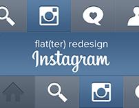 Instagram flat(ter) redesign