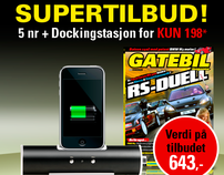 Gatebil Magazine Flash Banner