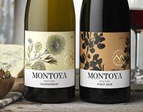 Montoya (ASV Wines) Wine Logo & Packaging Design