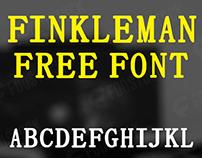 FINKLEMAN - FREE FONT