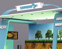 MICARDIS booth design