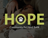 HOPE Pet Food Bank