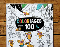 My first coloring book!