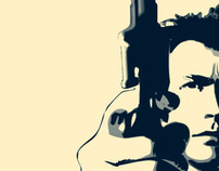 Celebrity Logos - Dirty Harry