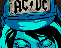 AcDc gig poster