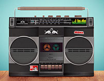 RED BULL MUSIC ACADEMY - Boom Box Stage | Concept