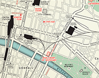 "Glasgow maps for Denise Mina's ""The Long Drop"""
