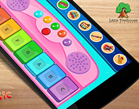 Kids Music Mobile App