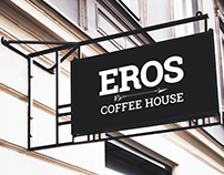 Eros Coffee House Branding