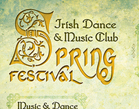 Irish Dance and Music Club Spring Festival