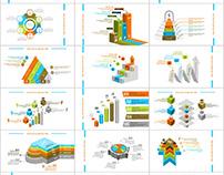 50+ Best Infographics chart PowerPoint template