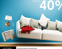 AZZARO Furniture design Promo Ads