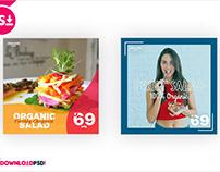 Salad Social Media