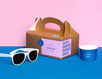Yum Guy – homemade ice cream branding