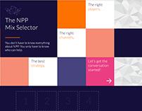 Ariad Health - NPP Mix Selector