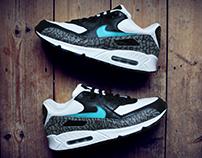 Atmos x Nike Air Max 90 'Elephant Print' Custom.