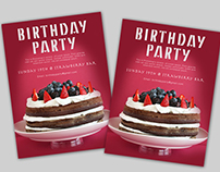 Free Birthday Party Flyer