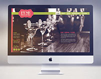 Fuse Bistro & Bar Responsive Website