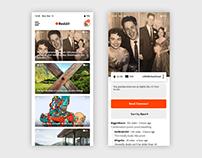 Reddit Redesign on Mobile