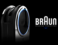 BRAUN READING PROJECTOR