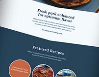Supreme Tender® Pork Website