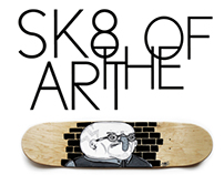 SK8 OH THE ART PAINT