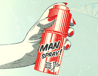 Man Spray!