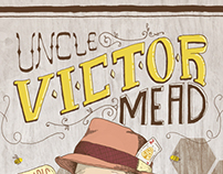 Uncle Victor Mead label design