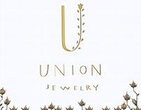 Logo development for jewelry house «UNION»