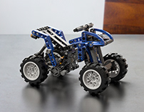 LEGO QUAD - Adobe Dimension CC