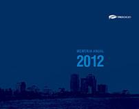 MEMORIA ANUAL 2012 Banco del Progreso