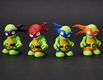 TMNT Kidrobot Mascots