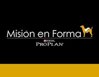 Purina Pro Plan - Misión en Forma // pdf mobile