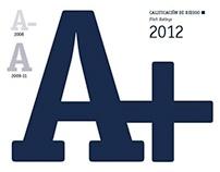 MEMORIA ANUAL 2012 Asociación Popular (APAP)