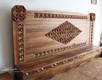 Wood art decoration - Ali Gence Special Collection