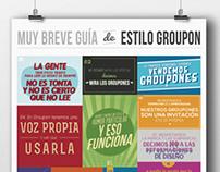 Breve Guía de Estilo Groupon
