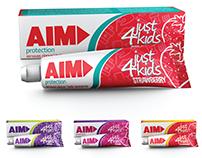 AIM Toothpaste Design & Packaging