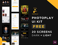 Photo Play UI Kit For FREE